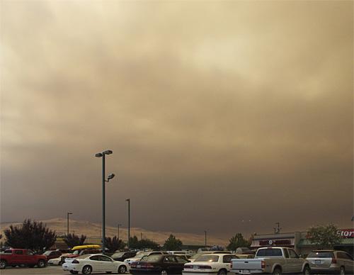 Smoke over Petro 2