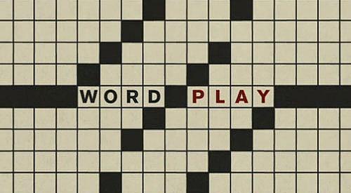 Wordplay title