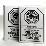 DHARMA Initiative Baked Snack Crackers