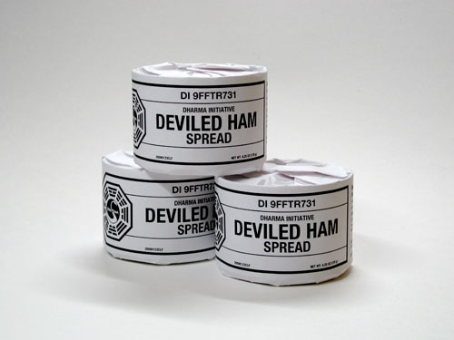 DHARMA Initative Deviled Ham Spread