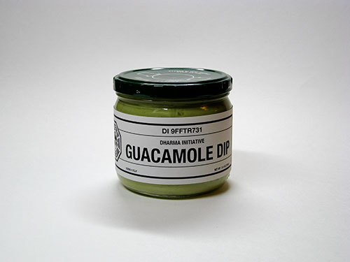 DHARMA Initiative Guacamole Dip