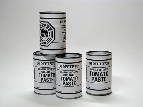 DHARMA Initiative Tomato Paste