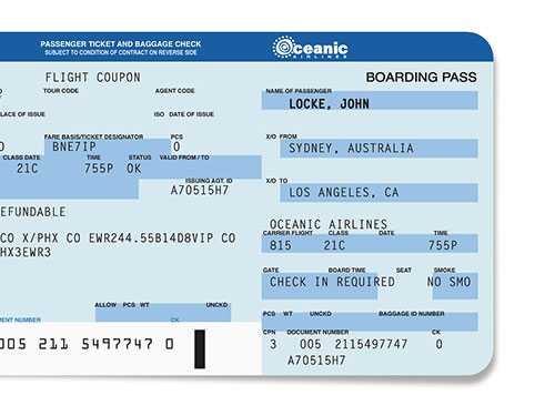 Themed Party Invitations Airline Ticket Beer Circus ...