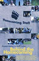 Behind the Homecoming 2001 poster